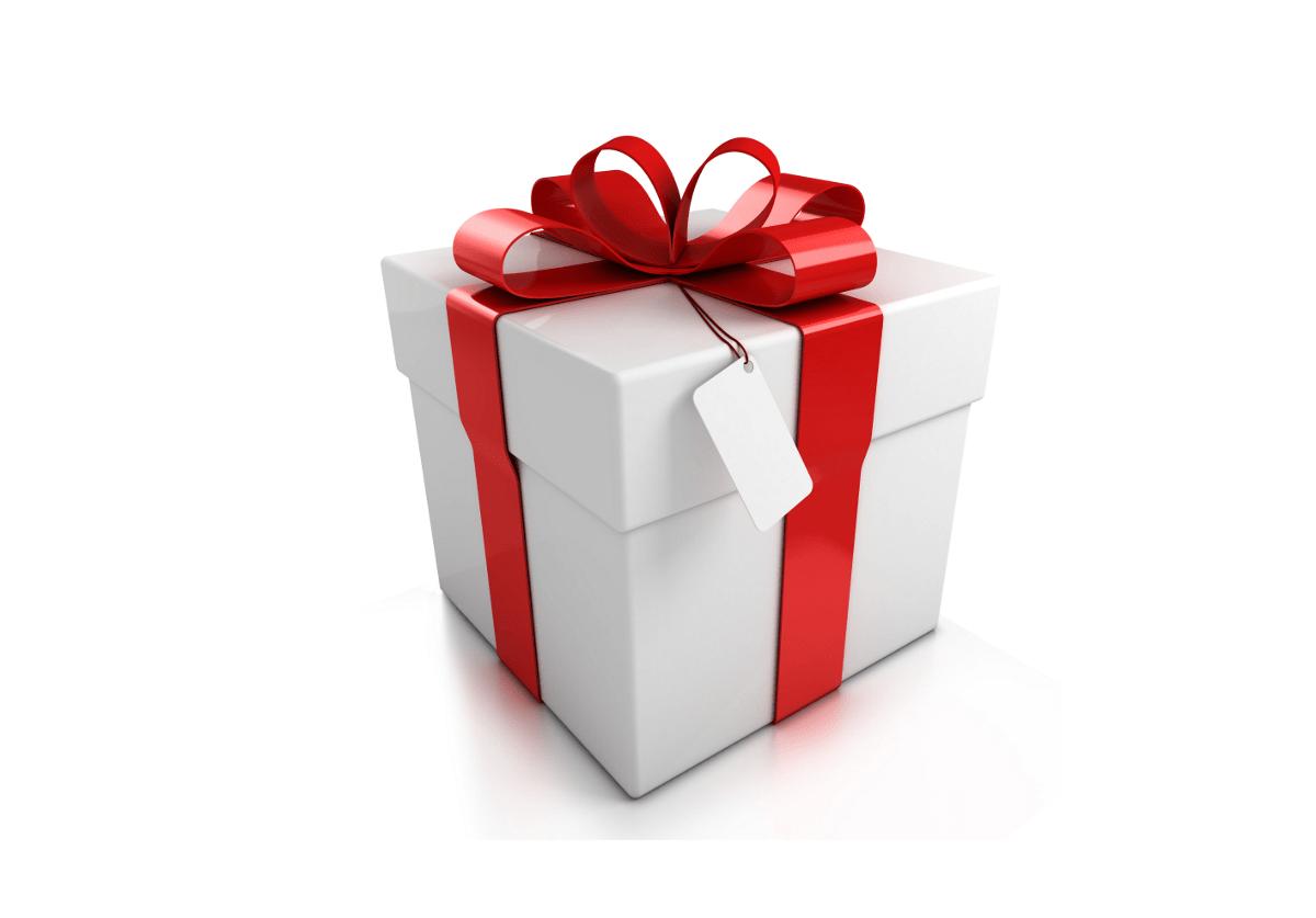 gift box of treats