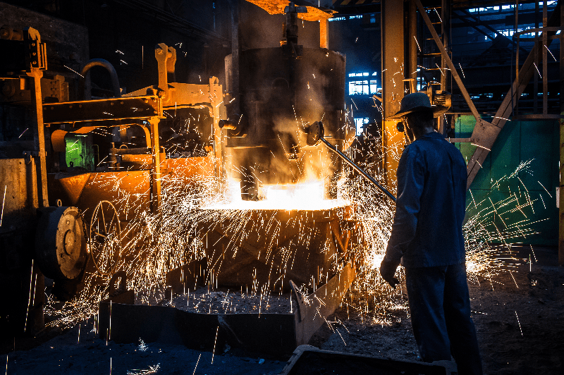 Foundry burns through business process capture forming the moulds for automation