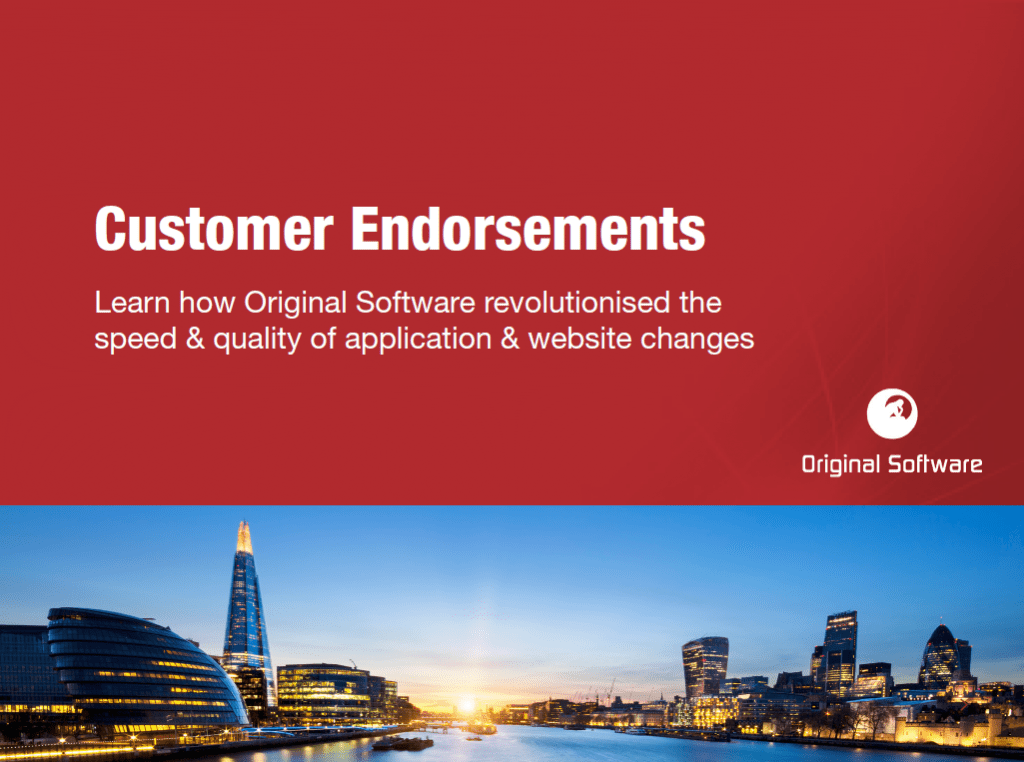 Customer Endorsements