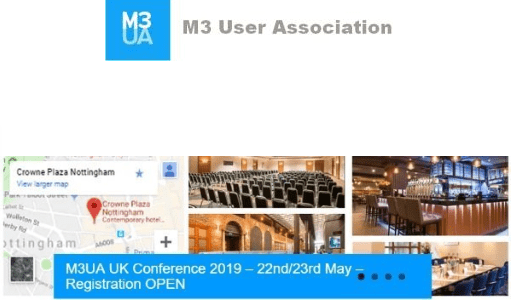 M3UA UK Conference. Are free biscuits the secret of success?