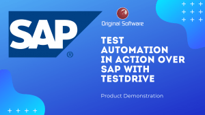 TestDrive test automation in action over SAP