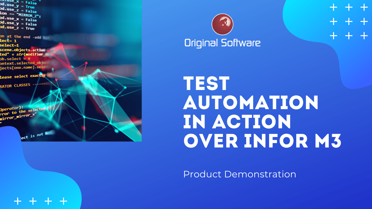 Test Automation  over Infor M3