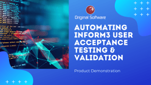 Automating Infor M3 User Acceptance Testing & Validation