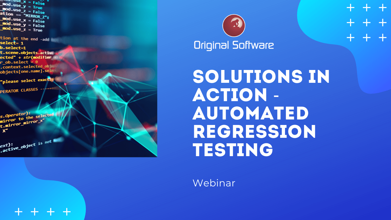 Solutions in Action: Automated Regression Testing