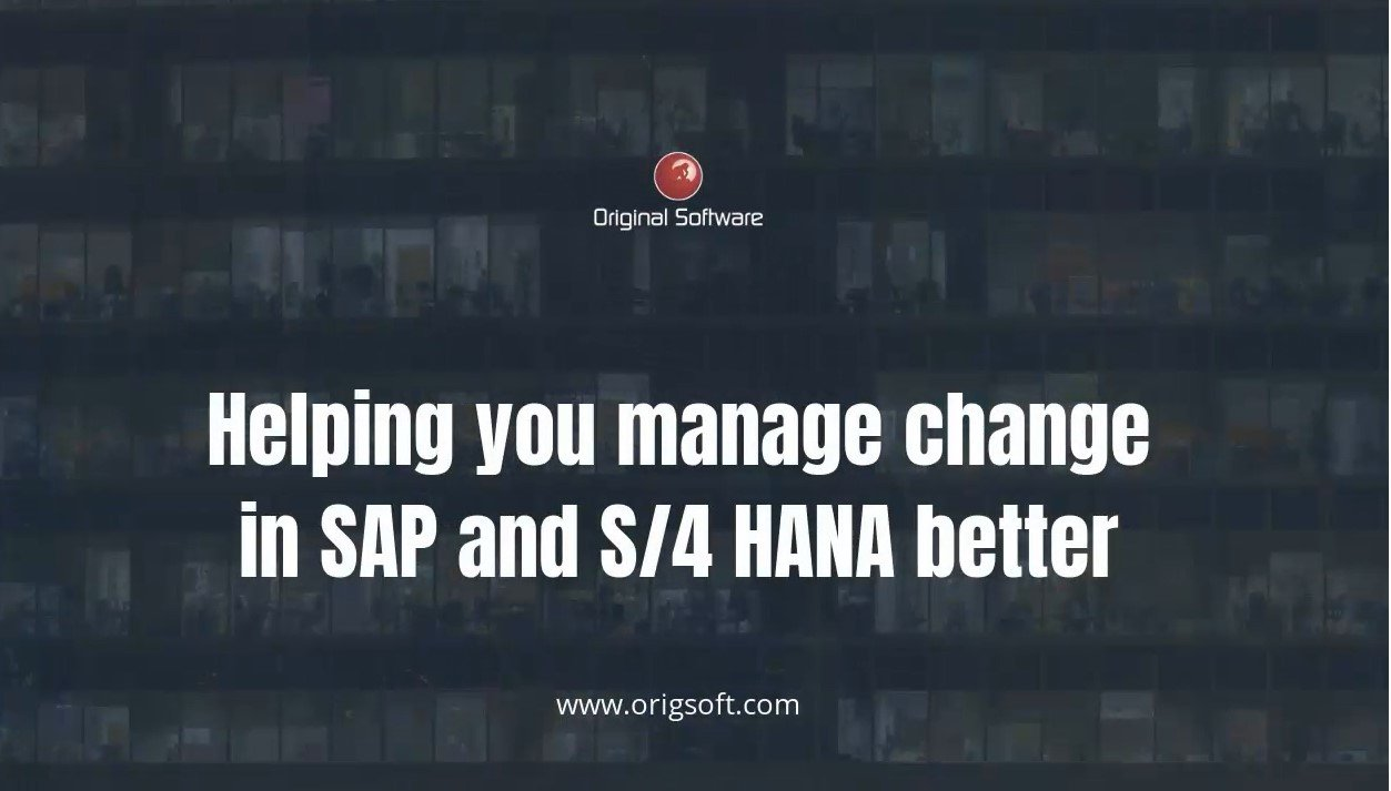 Improve SAP ECC updates and upgrades. Fix your issues before the jump to S/4HANA